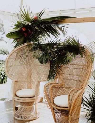 Décoration florale mariage vendée