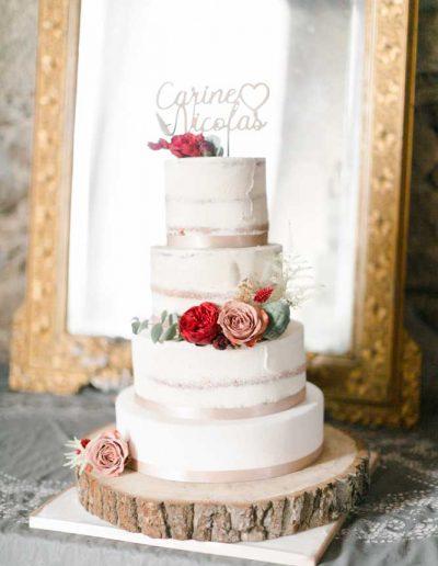Fleuriste gateau de mariage Vendée